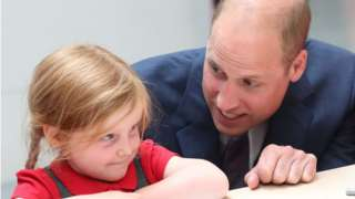 Prince William at the Great Exhibition of the North
