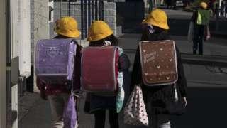 japan schoolchildren