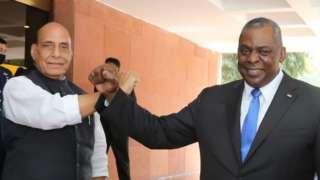 अमेरिका के रक्षा मंत्री लॉयड जेम्स ऑस्टिन भारत के दौरे पर