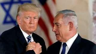 بنیامین نتانیاهو (راست) قویا اتهام جاسوسی از کاخسفید را رد کرده است