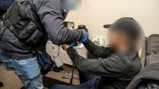 Police raid in Essex