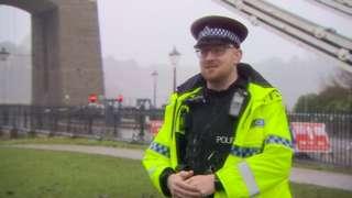 Special constable John Halpin