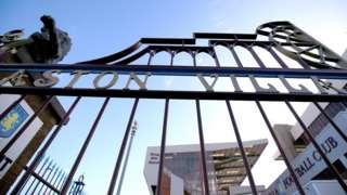 Aston Villa's Villa Park ground