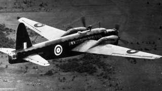 Vickers Wellington bomber, file pic, 1 Jan 40