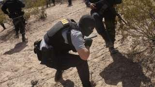 """""""El seguimiento 39 recibió ayudo al más alto nivel de la Policía Federal de México."""