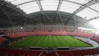 The National Stadium in Singapore