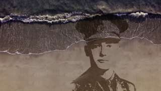 A large-scale portrait of a casualty from the First World War, designed by sand artists Sand In Your Eye, will be drawn into the sand in many locations and washed away as the tide comes in.