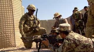 Американские войска в Афганистане, фото 2016 года