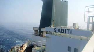 Picture aboard Iranian oil tanker Sabiti