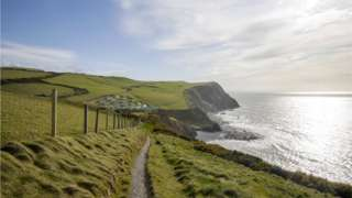 The coastal path in Ceredigion