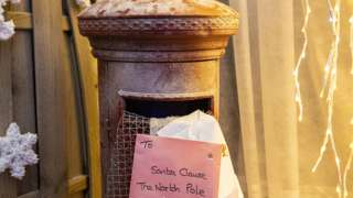 Letter posted to Santa
