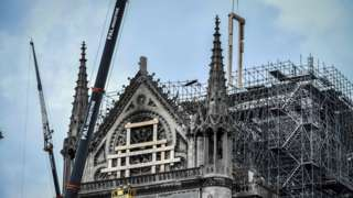 Renovation and repair work gets underway at Notre-Dame cathedral in May