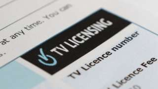 TV licensing document