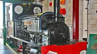Welsh Slate locomotive