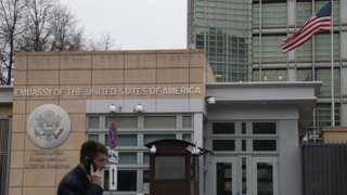 US embassy in Moscow (15 April)