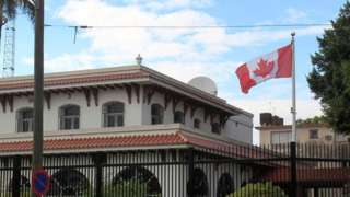 Canadian embassy in Havana
