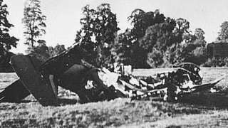 Plane crash in 1940
