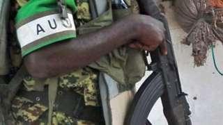 Les forces de l'Union Africaine