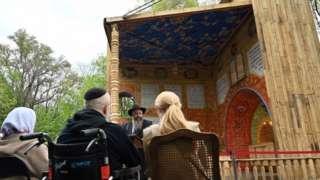 Opening of synagogue at Babyn Yar memorial, 14 May 21