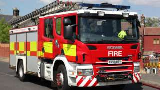 SYFRS fire engine - stock picture