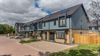 Eden Rise development in Cambourne