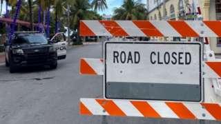 Закрытая улица во Флориде