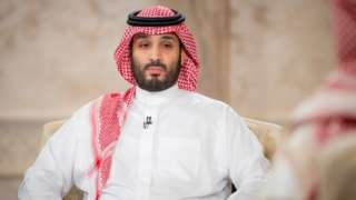 Saudi Crown Prince Mohammed bin Salman is interviewed by Saudi TV (27 April 2021)