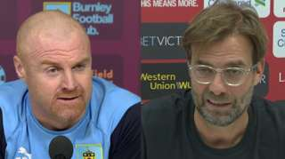 Dyche and Klopp