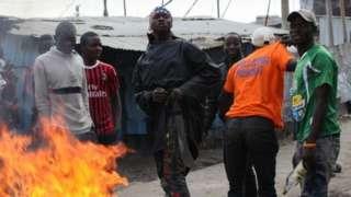 wafuasi wa upinzani walikabiliana na maafisa wa polisi Jijini nairobi