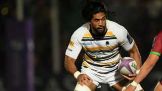Michael Fatialofa is in his second season at Sixways following his arrival from New Zealand Super Rugby side Hurricanes