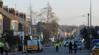 Windmill Road cordon