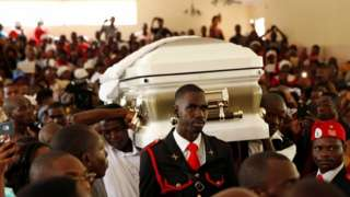 A memorial service in Zimbabwe for veteran opposition leader Morgan Tsvangirai, 18 February 2018