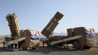 Iran surface to air missiles