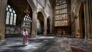 East Wing of Bath Abbey