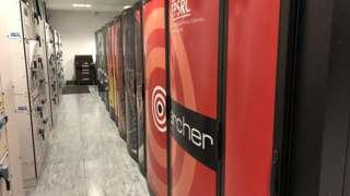 Supercomputer at Edinburgh University