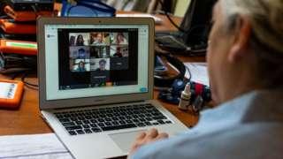 Una clase en línea