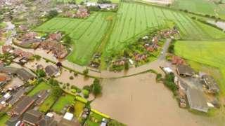 Flooding in Wainfleet