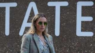 A guest at Tate Modern