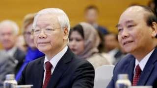 Tổng Bí thư, Chủ tịch nước Nguyễn Phú Trọng và Thủ tướng Nguyễn Xuân Phúc