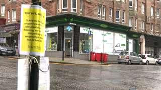 M&D Green pharmacy in Port Glasgow