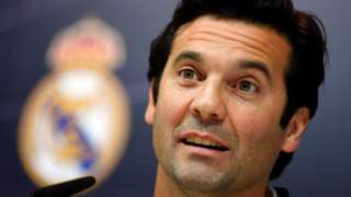 Real Madrid manager Santiago Solari