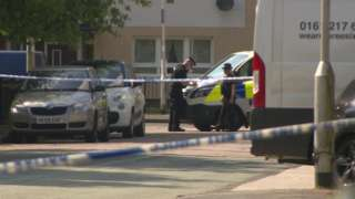 People were struck at the Salisbury Club in Truro Avenue, Stockport