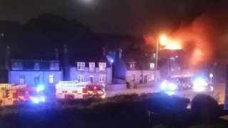 Fire at former primary in Bucksburn