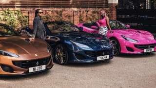 DJ Cuppy father Femi Otedola gift Ferrari Portofino to im daughters