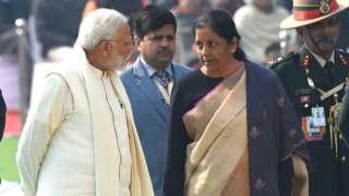 நிர்மலா சீதாராமன் & நரேந்திர மோதி