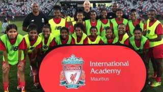 Liverpool's international academy in Mauritius