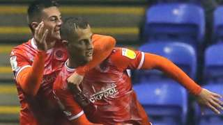 Jerry Yates' second goal of the night won all three points for Blackpool at Reading