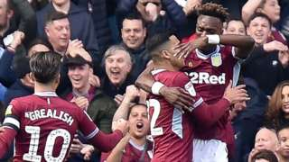 Of Tammy Abraham's 's 22 Championship goals this season, 18 have been at Villa Park