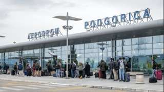 Zgrada aerodroma u Podgorici
