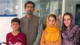 Mr Khalili and family